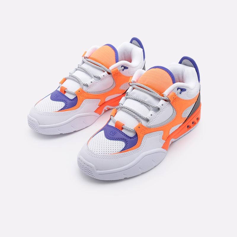 мужские белые  кроссовки dc shoes kalis og x jsp ADYS100583 - цена, описание, фото 4