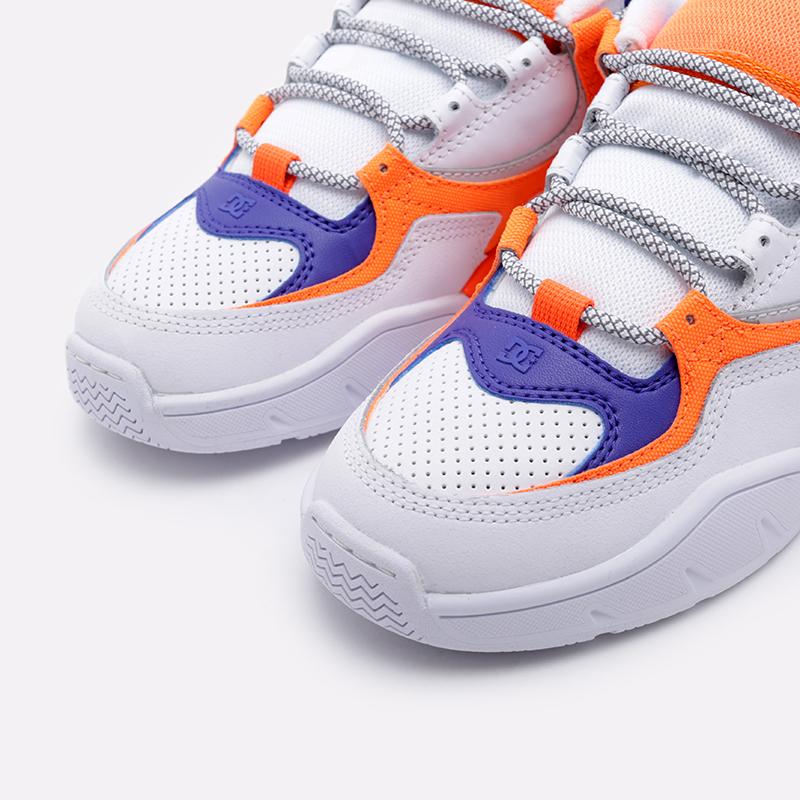 мужские белые  кроссовки dc shoes kalis og x jsp ADYS100583 - цена, описание, фото 5