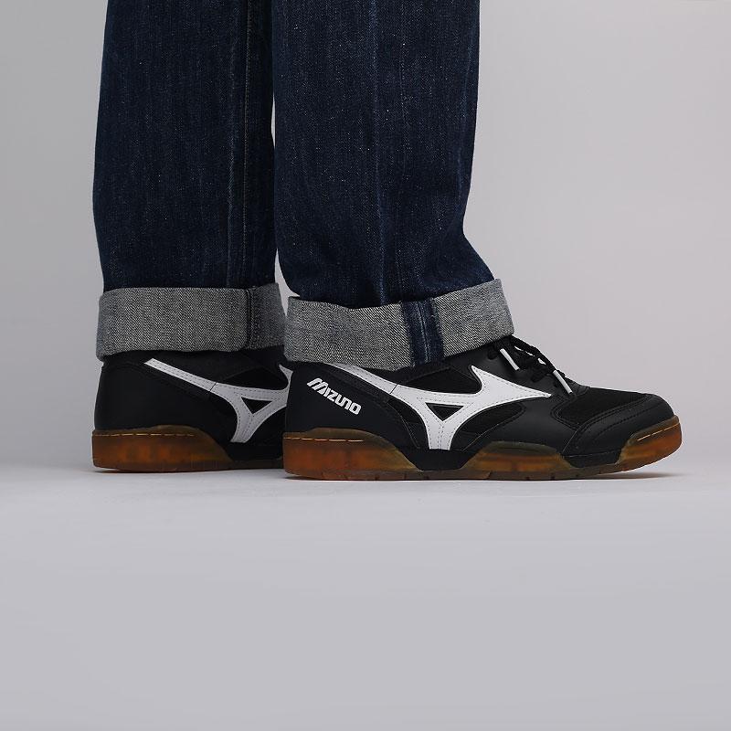мужские черные  кроссовки mizuno court select D1GA191409 - цена, описание, фото 6