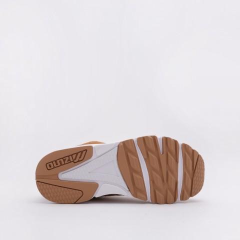 женские коричневые  кроссовки mizuno sky medal D1GA192055 - цена, описание, фото 3
