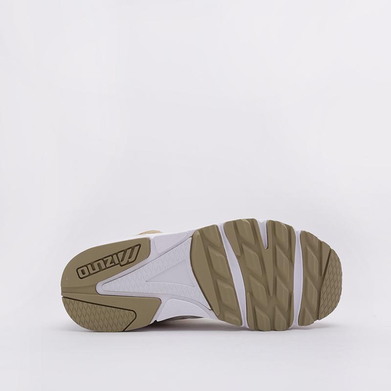 женские бежевые  кроссовки mizuno sky medal D1GA192049 - цена, описание, фото 3