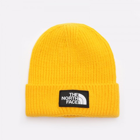 Шапка The North Face Logo Box Cuff Beanie