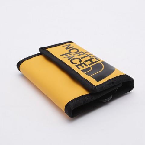 жёлтый, чёрный  бумажник the north face base camp wallet T0CE69LR0 - цена, описание, фото 2