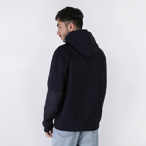 мужскую синюю  толстовка carhartt wip hooded klicks sweat i027007-dnavy - цена, описание, фото 2