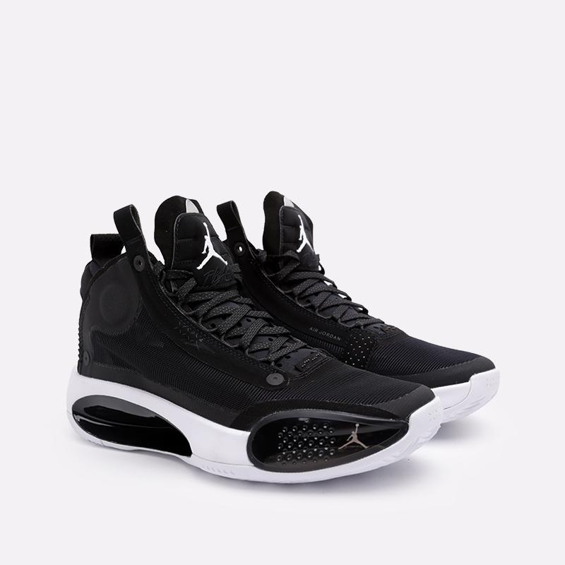мужские чёрные  кроссовки jordan xxxiv AR3240-001 - цена, описание, фото 3