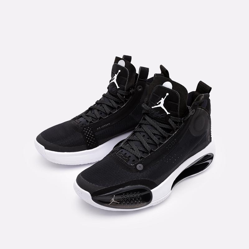 мужские чёрные  кроссовки jordan xxxiv AR3240-001 - цена, описание, фото 5