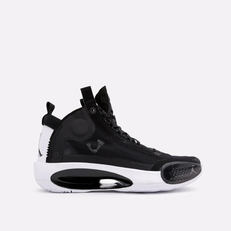 мужские чёрные  кроссовки jordan xxxiv AR3240-001 - цена, описание, фото 1