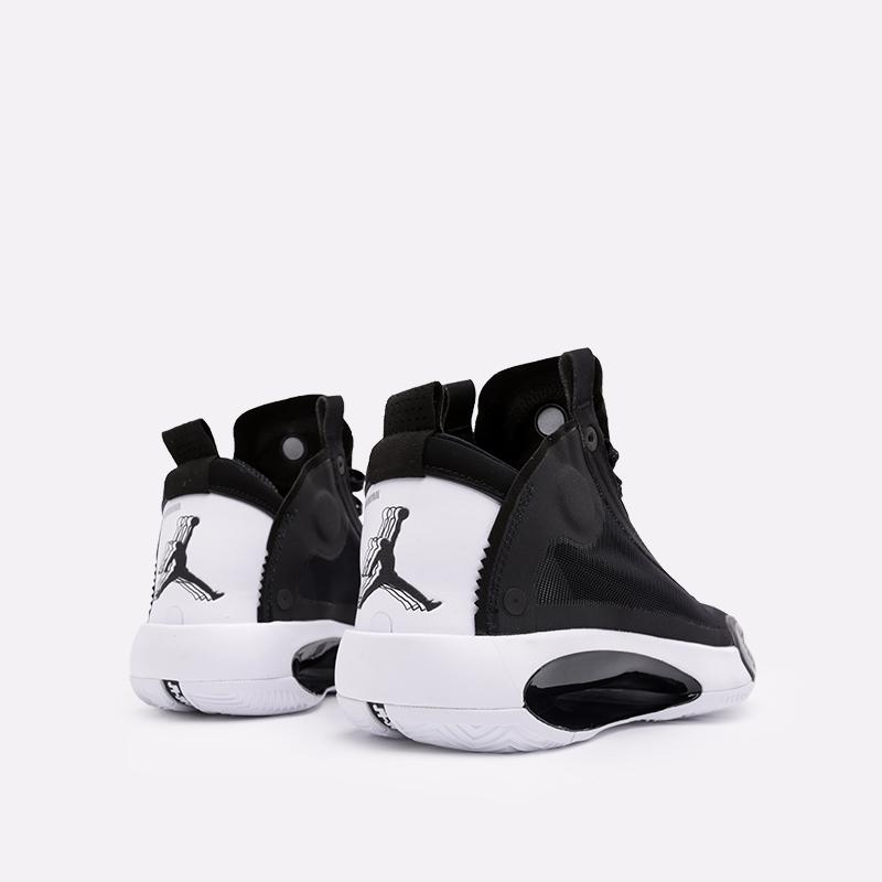 мужские чёрные  кроссовки jordan xxxiv AR3240-001 - цена, описание, фото 4
