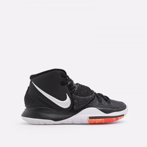 мужские чёрные  кроссовки nike kyrie 6 BQ4630-001 - цена, описание, фото 1