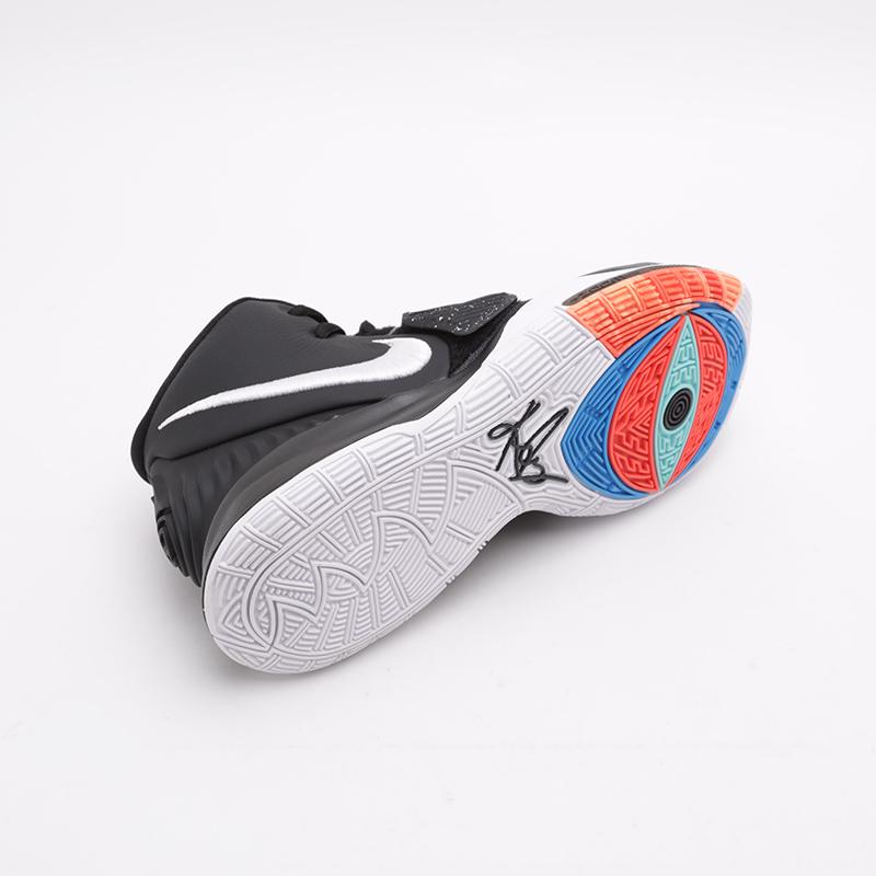 мужские чёрные  кроссовки nike kyrie 6 BQ4630-001 - цена, описание, фото 2
