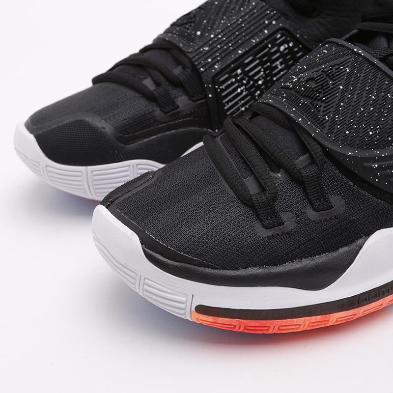 мужские чёрные  кроссовки nike kyrie 6 BQ4630-001 - цена, описание, фото 5