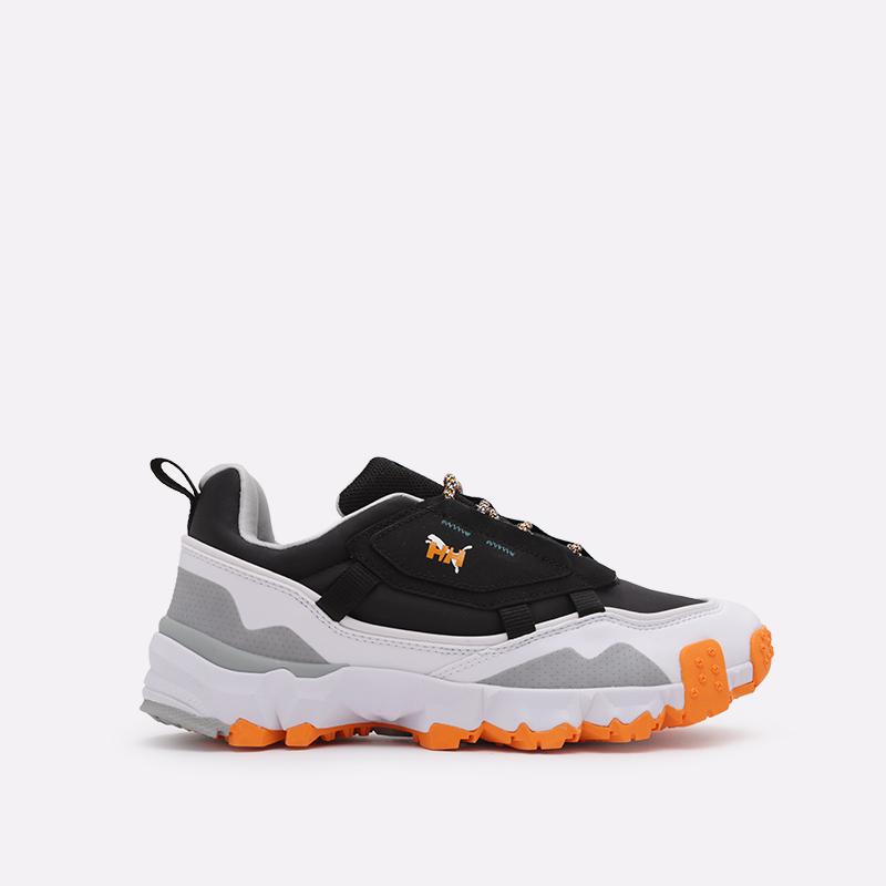 мужские чёрные  кроссовки puma trailfox mts helly hasen 37251701 - цена, описание, фото 1