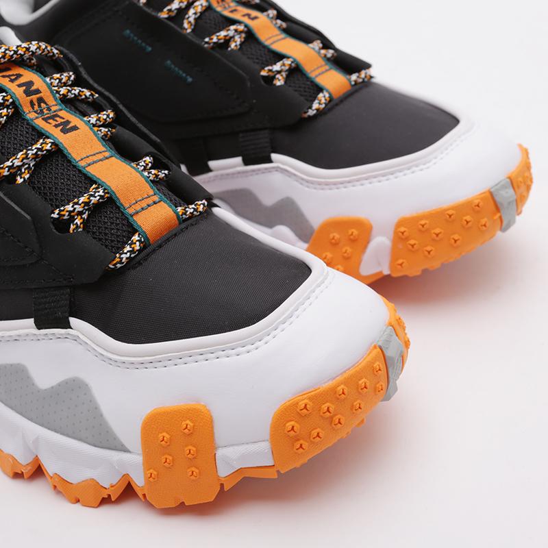 мужские чёрные  кроссовки puma trailfox mts helly hasen 37251701 - цена, описание, фото 8