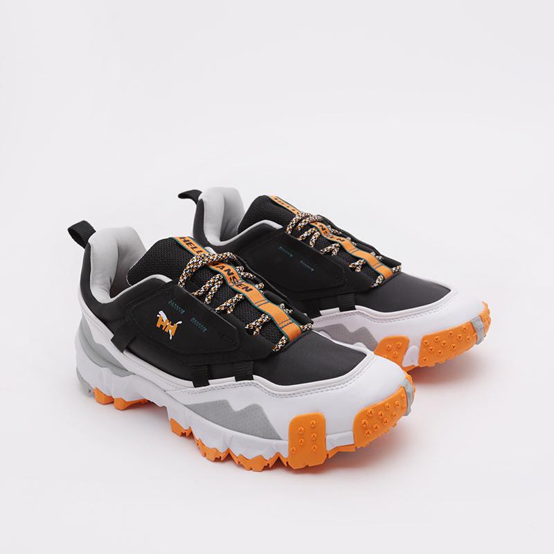 мужские чёрные  кроссовки puma trailfox mts helly hasen 37251701 - цена, описание, фото 3