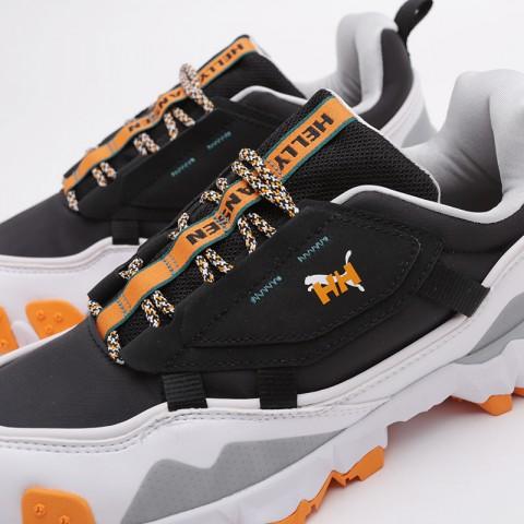 мужские чёрные  кроссовки puma trailfox mts helly hasen 37251701 - цена, описание, фото 7