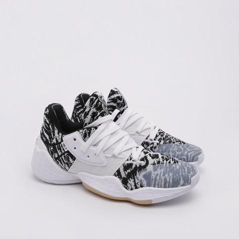 мужские белые  кроссовки adidas harden vol. 4 EF1260 - цена, описание, фото 3
