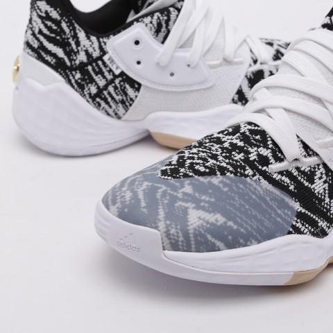 мужские белые  кроссовки adidas harden vol. 4 EF1260 - цена, описание, фото 6