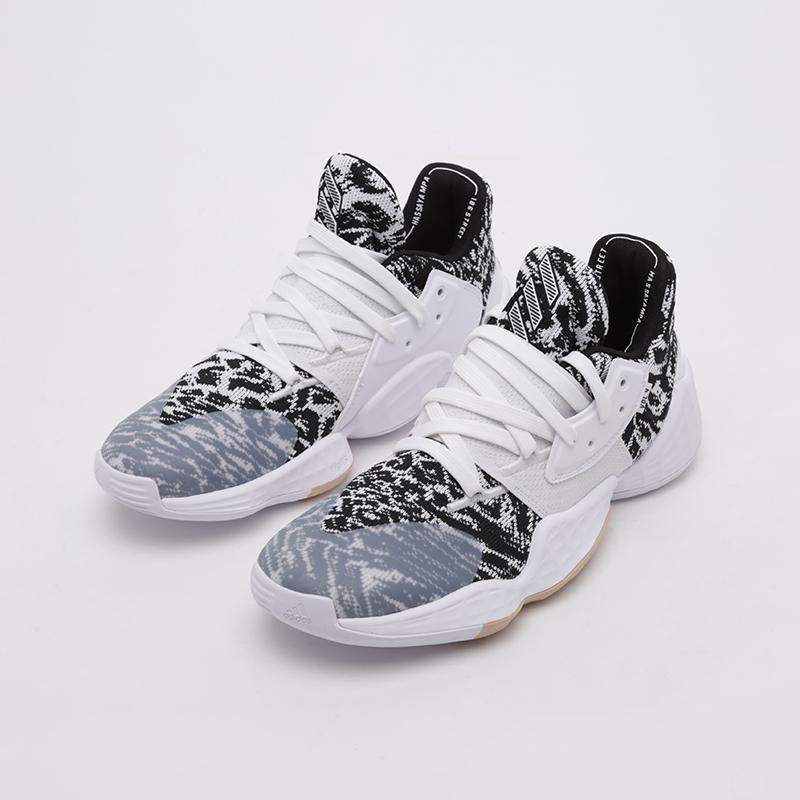 мужские белые  кроссовки adidas harden vol. 4 EF1260 - цена, описание, фото 7