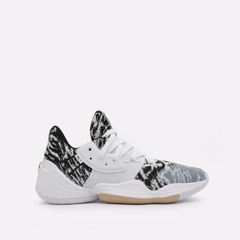 мужские белые  кроссовки adidas harden vol. 4 EF1260 - цена, описание, фото 1