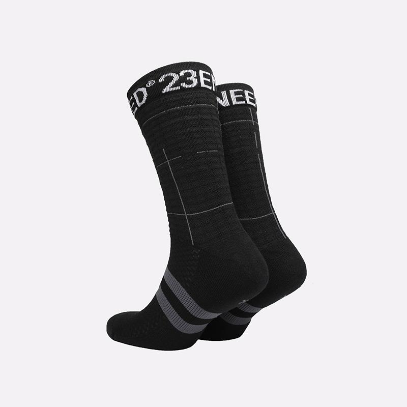мужские чёрные  носки jordan legacy crew 23 engineered SX7814-010 - цена, описание, фото 2