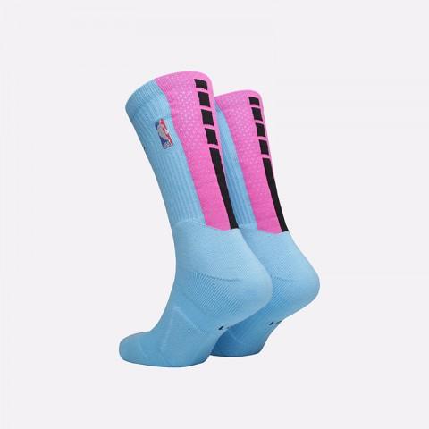 мужские голубые  носки nike elite crew socks SX7881-425 - цена, описание, фото 2