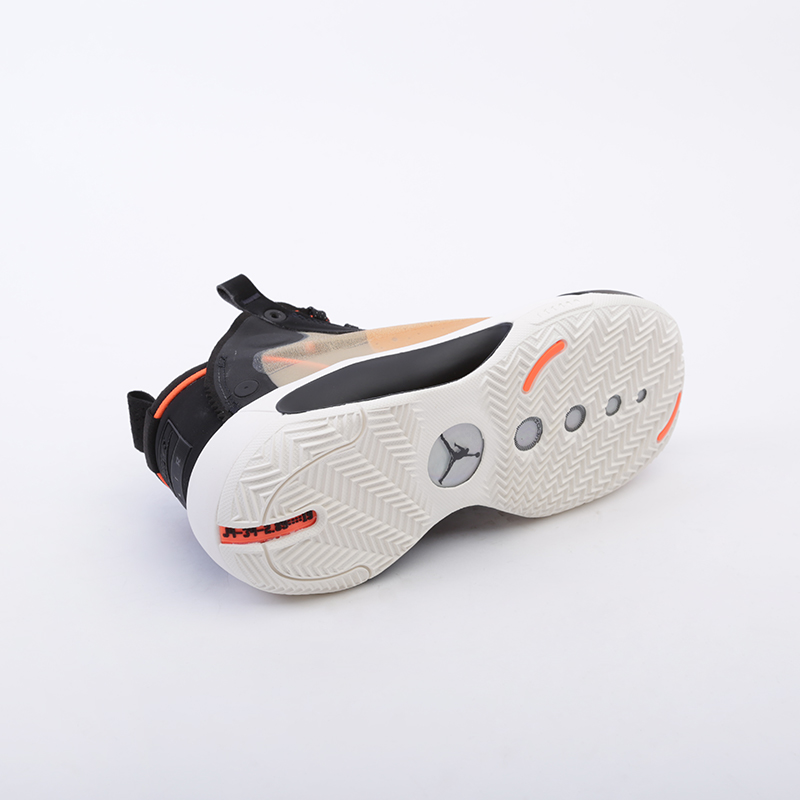 женские бежевые  кроссовки jordan xxxiv (gs) BQ3384-800 - цена, описание, фото 5