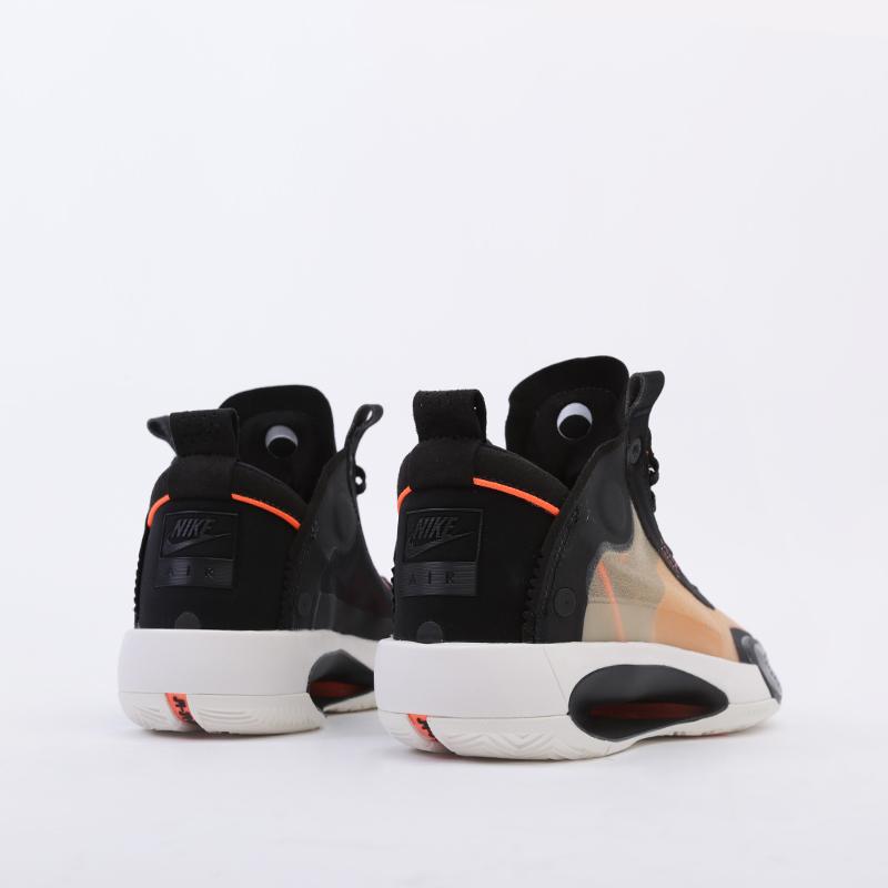 женские бежевые  кроссовки jordan xxxiv (gs) BQ3384-800 - цена, описание, фото 3