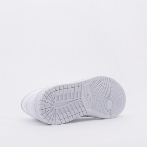 женские белые  кроссовки jordan wmns 1 mid BQ6472-111 - цена, описание, фото 3