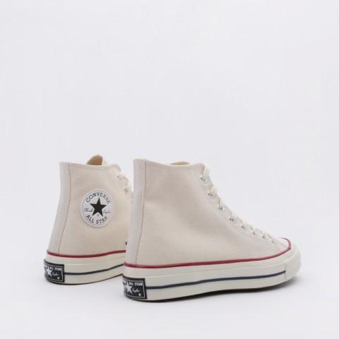 мужские бежевые  кроссовки converse chuck70 hi 162053 - цена, описание, фото 5