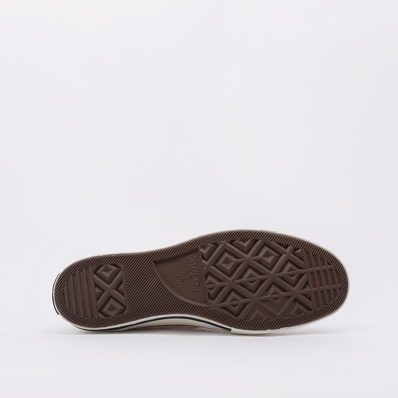 мужские бежевые  кроссовки converse chuck70 hi 162053 - цена, описание, фото 2