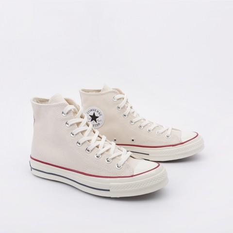 мужские бежевые  кроссовки converse chuck70 hi 162053 - цена, описание, фото 3