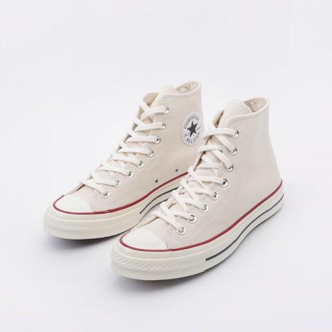 мужские бежевые  кроссовки converse chuck70 hi 162053 - цена, описание, фото 4