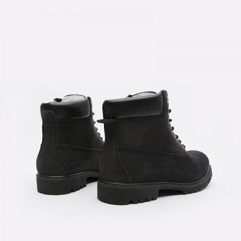 мужские черные  ботинки jack porter work boot WB-NF-M-черн - цена, описание, фото 6