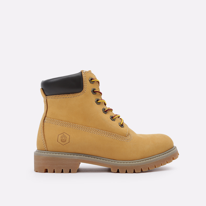 женские коричневые  ботинки jack porter wb WB-NW-W-желт - цена, описание, фото 1