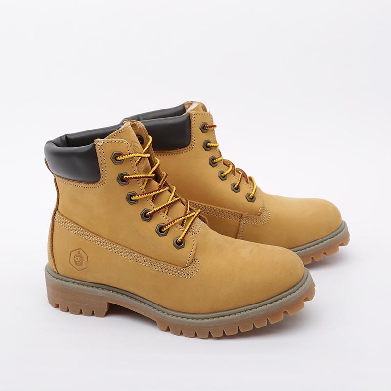 женские коричневые  ботинки jack porter wb WB-NW-W-желт - цена, описание, фото 2