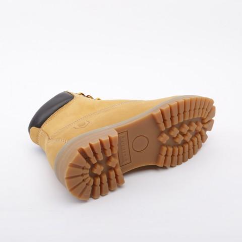 женские коричневые  ботинки jack porter wb WB-NW-W-желт - цена, описание, фото 3