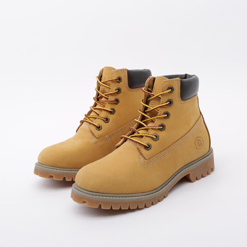 женские коричневые  ботинки jack porter wb WB-NW-W-желт - цена, описание, фото 4