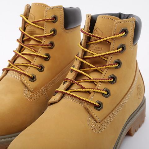 женские коричневые  ботинки jack porter wb WB-NW-W-желт - цена, описание, фото 5