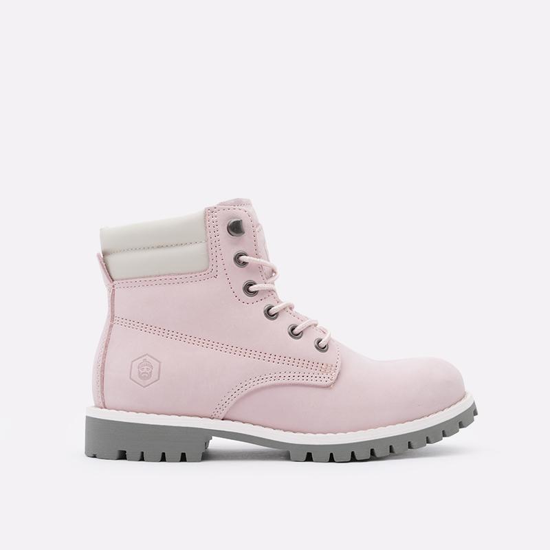 женские розовые  ботинки jack porter wb2 WB2-NW-W-роз - цена, описание, фото 1