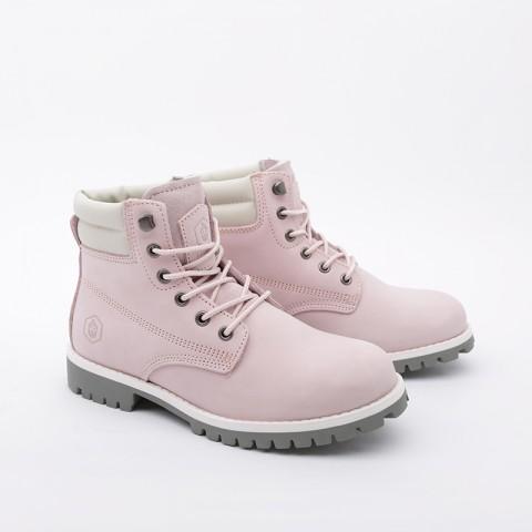 женские розовые  ботинки jack porter wb2 WB2-NW-W-роз - цена, описание, фото 3
