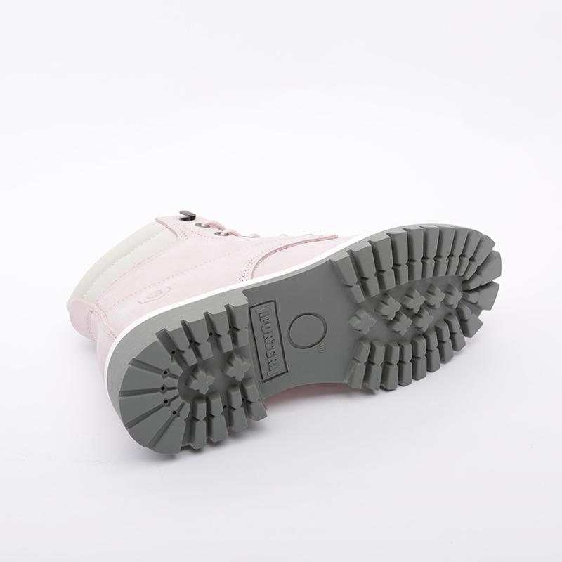 женские розовые  ботинки jack porter wb2 WB2-NW-W-роз - цена, описание, фото 2