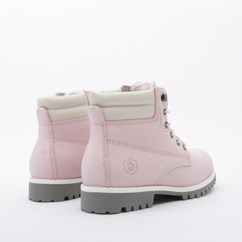 женские розовые  ботинки jack porter wb2 WB2-NW-W-роз - цена, описание, фото 4