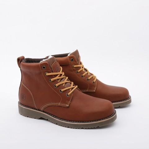 мужские коричневые  ботинки jack porter pb PB-LW-M-корич - цена, описание, фото 2