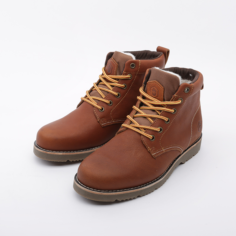 мужские коричневые  ботинки jack porter pb PB-LW-M-корич - цена, описание, фото 5