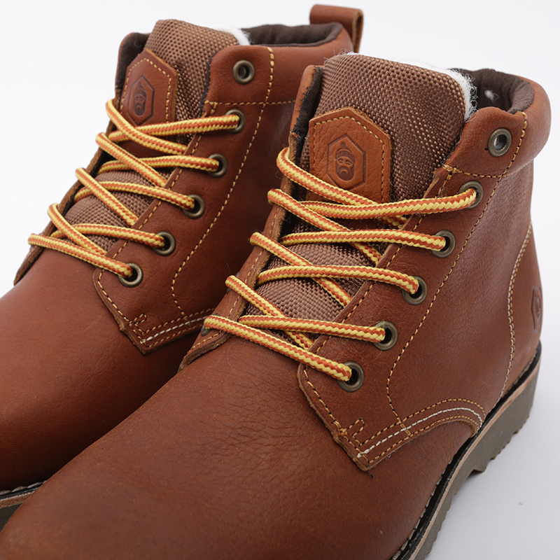 мужские коричневые  ботинки jack porter pb PB-LW-M-корич - цена, описание, фото 6