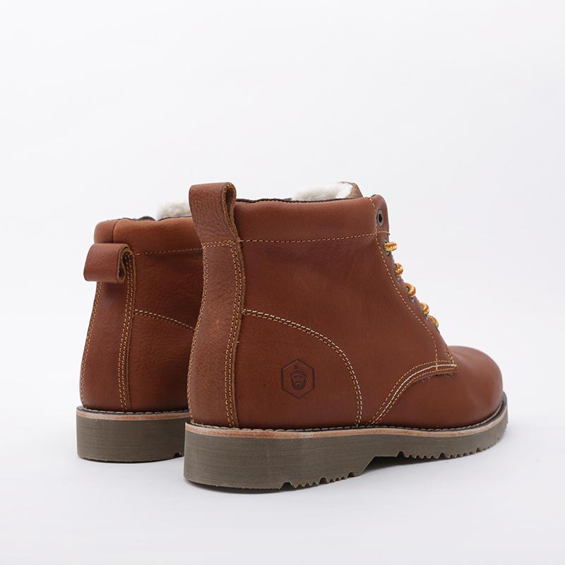 мужские коричневые  ботинки jack porter pb PB-LW-M-корич - цена, описание, фото 4