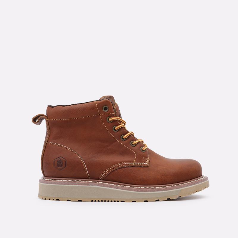 мужские коричневые  ботинки jack porter pb1 PB1-LW-M-корич - цена, описание, фото 1