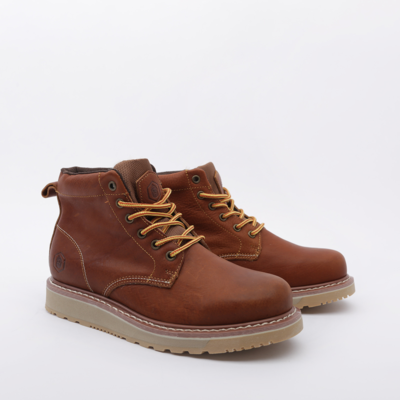 мужские коричневые  ботинки jack porter pb1 PB1-LW-M-корич - цена, описание, фото 2