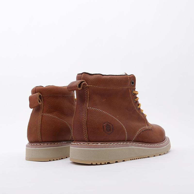 мужские коричневые  ботинки jack porter pb1 PB1-LW-M-корич - цена, описание, фото 4
