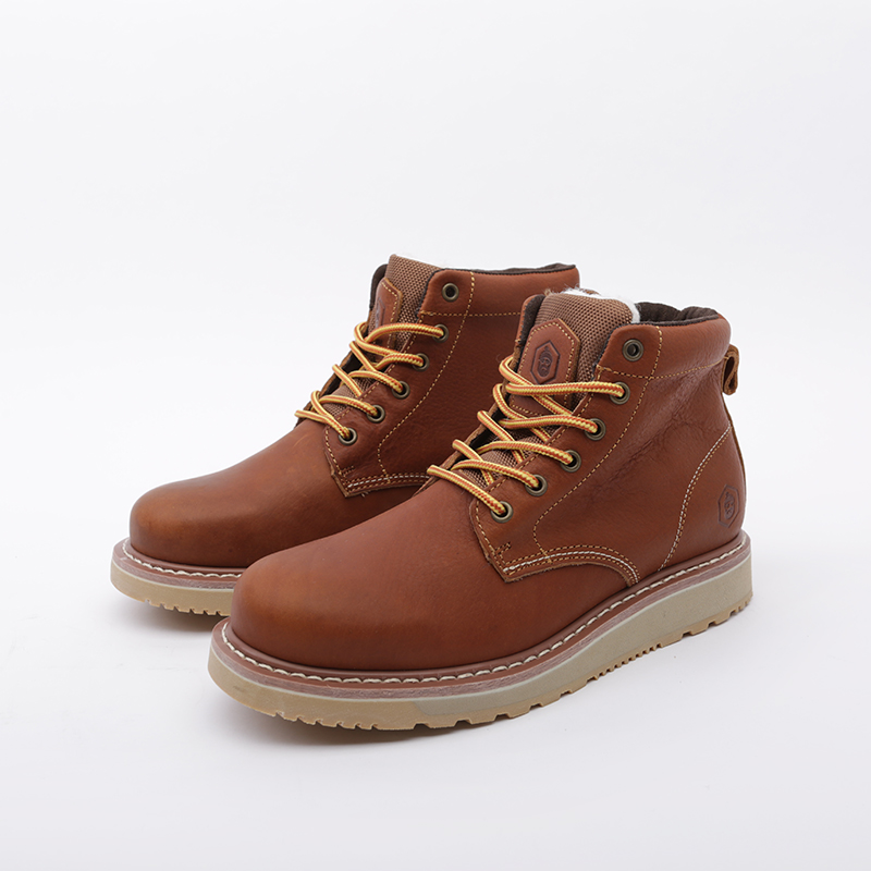мужские коричневые  ботинки jack porter pb1 PB1-LW-M-корич - цена, описание, фото 5